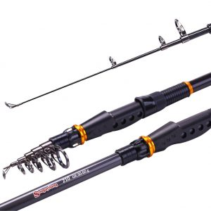 Sougayilang Spinning Telescopic Fishing Rod
