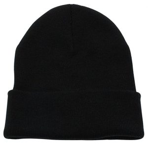 Top Level Unisex Cuffed Plain Skull Beanie Toboggan Knit Hat/Cap