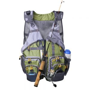 Fishing Vest, Lumsing Adjustable Waterproof Fly Fishing Vest