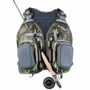 Elkton Outdoors Universal Fit Fly Fishing Vest