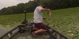 fishing in gras