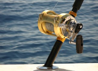 deep sea fishing trolling reel
