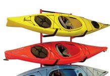 kayak wall mount and storage racks
