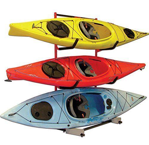 kayak wall mount and storage racks